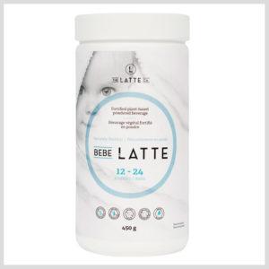 Bebe Latte bottle label