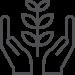 icône à base de plantes