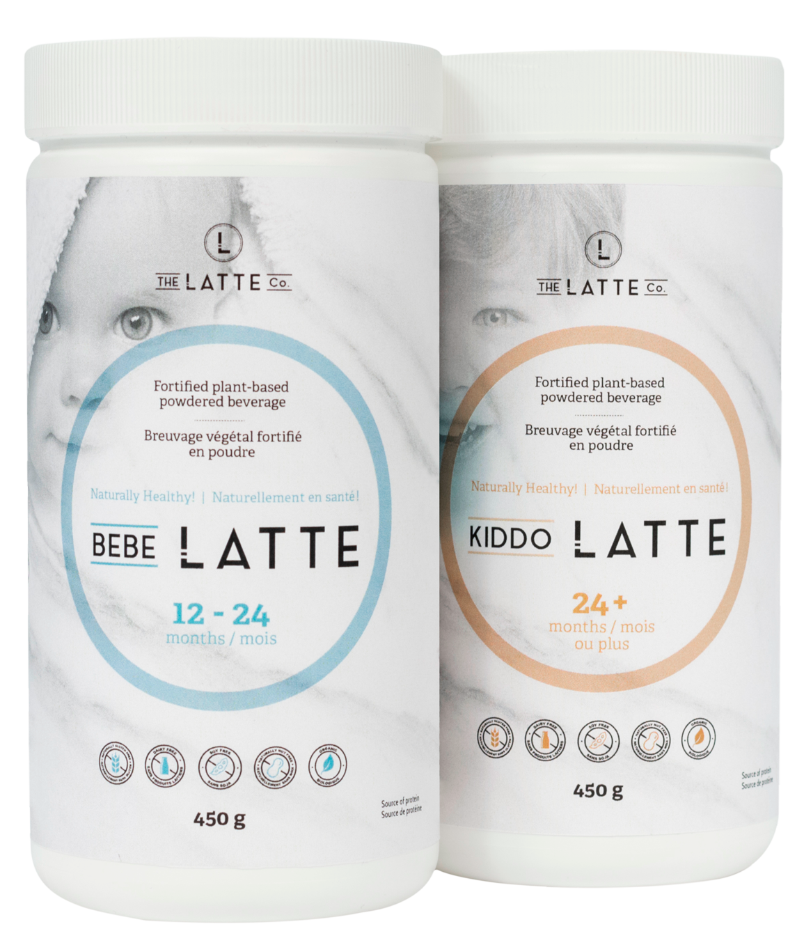 The Latte Co. Bottles