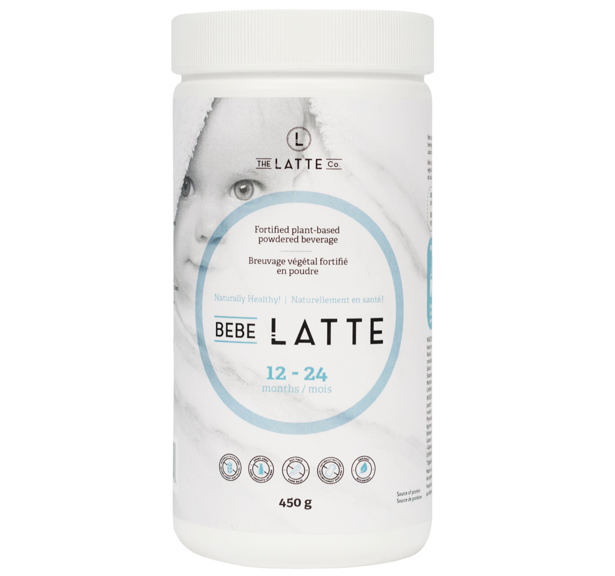Bottle of Bebe Latte