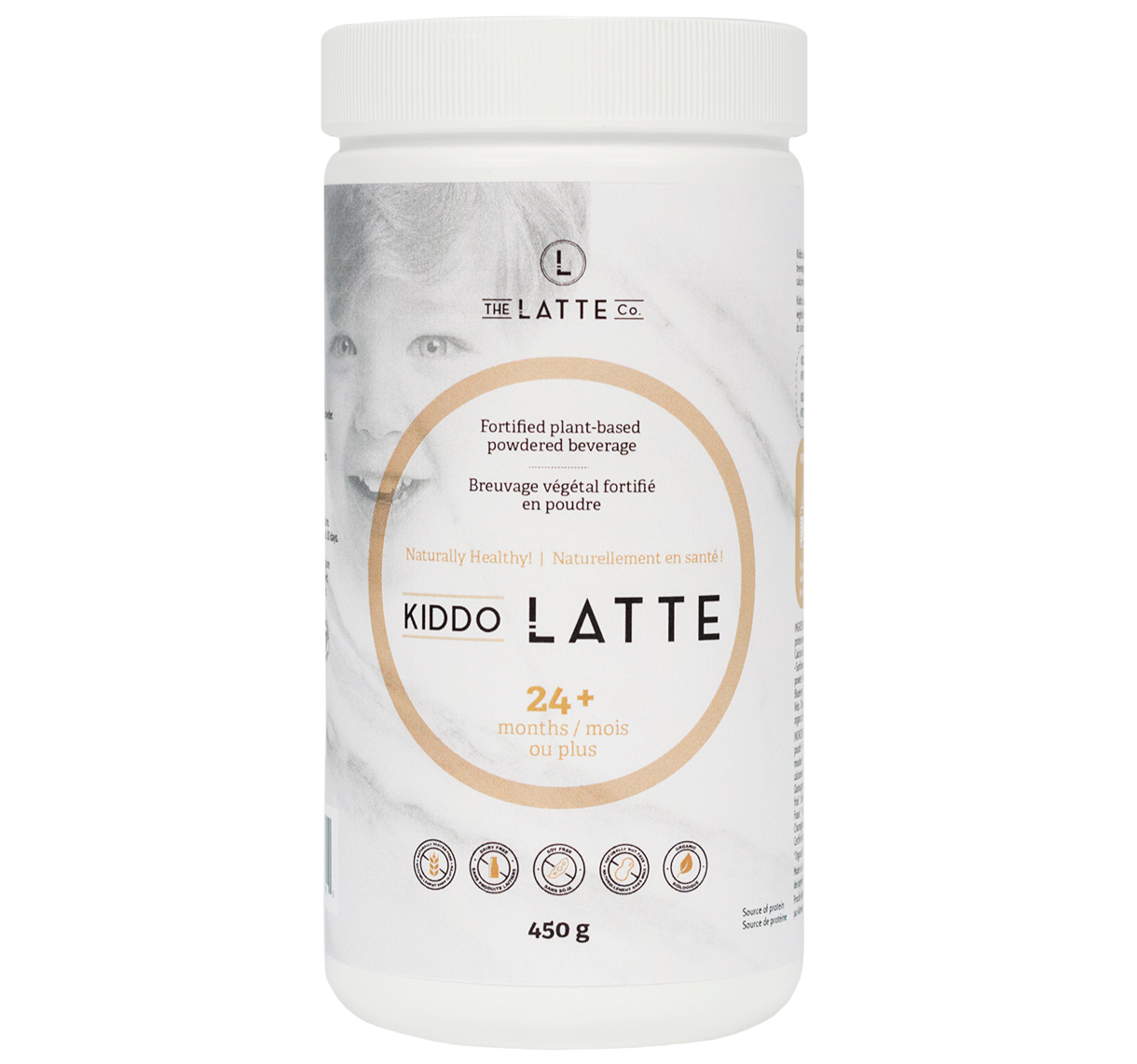 Bottle of Kiddo Latte
